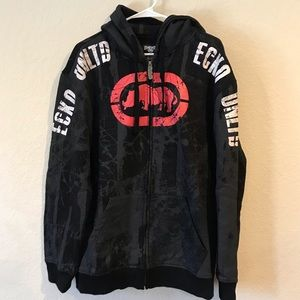 Ecko Unltd zip up hoodie